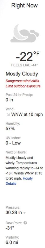 Minneapolis Winter
