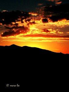 sunset - arizona