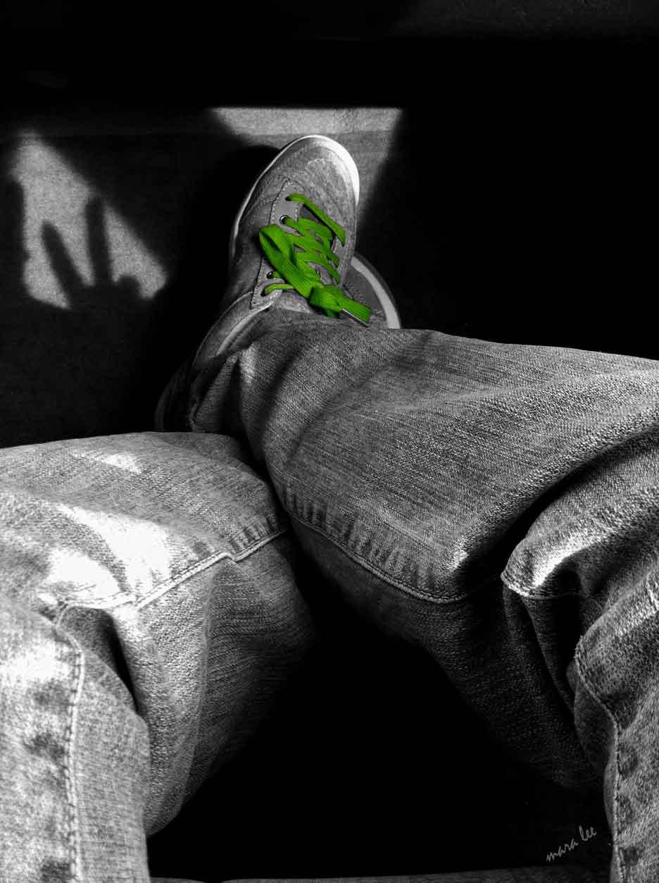 green-shoelaces-peace