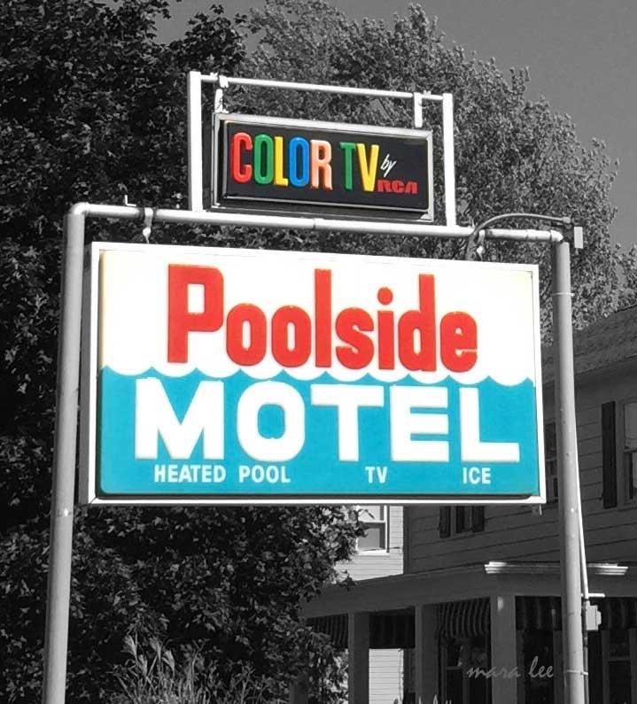 poolside motel